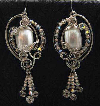 Osmina shell earrings