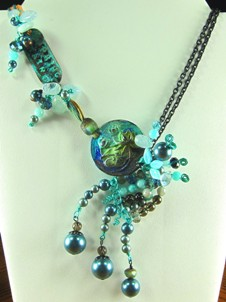 Cascading Spring Rain necklace